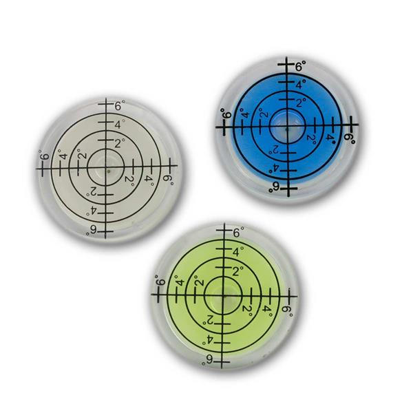Wasserwaagen Libelle, Dosenlibelle, Ø32mm, 3er Set