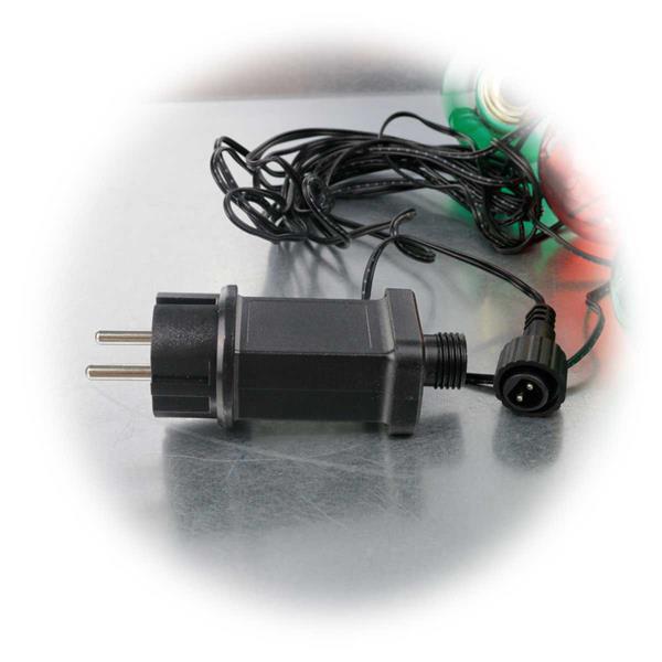 LED Deko Lichterketten in Glühlampen-Optik für 230V