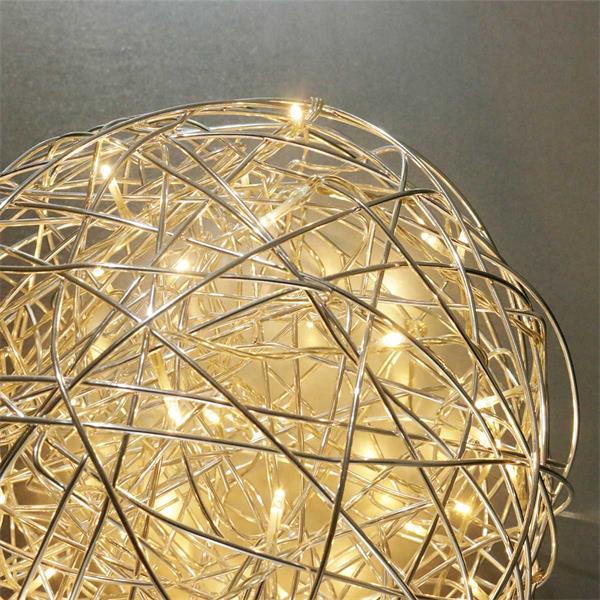 LED Designleuchte mit 50 warmweißen LEDs für Gartendeko