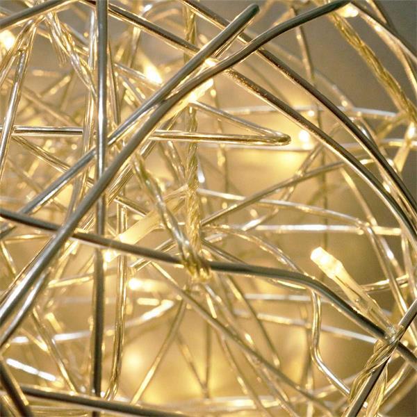 LED Designleuchte mit 200 warmweißen LEDs für Gartendeko