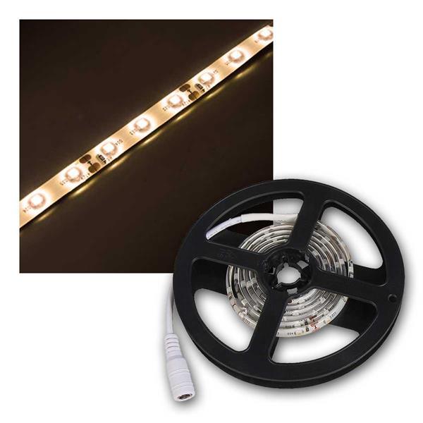 LED-Stripe 1m, warmweiß, 60 LEDs, 12V, IP65, 2700K