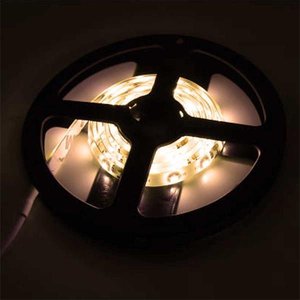 megahellen SMD LEDs mit einem großen Abstrahlwinkel, LED Strip im Silikonmantel