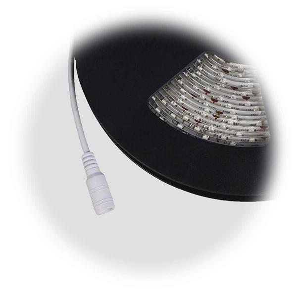 LED SMD flexibler Streifen wird auf Rolle, Anschluss via Koaxstecker 5,5/2,5mm