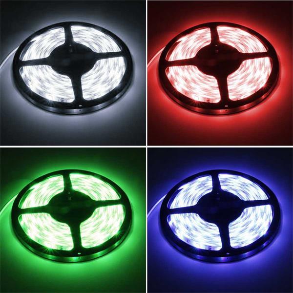 flexibler LED Streifen mit satten Farben, Einzelfarben oder Farbwechsel