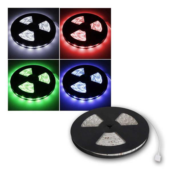 LED-Stripe McShine, 300 LEDs, 10m, RGB, 12V, IP65