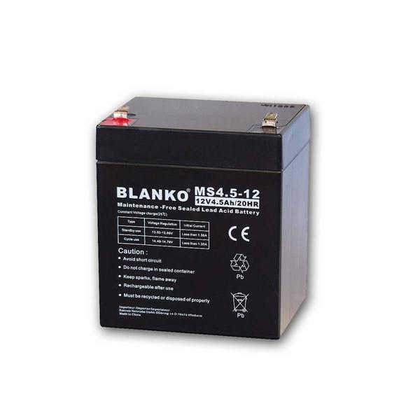 Blei-Akku BLANKO 12V/ 4,5Ah, 90x70x101mm
