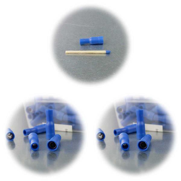 Steckverbinder für Kabel und Litzen mit Kabelquerschnitt 1,5-2,5mm²