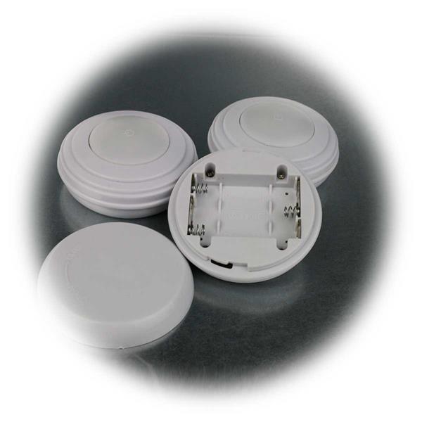 Batteriebetriebene LED-Unterbauleuchte mit Timer und Dimmfunktion