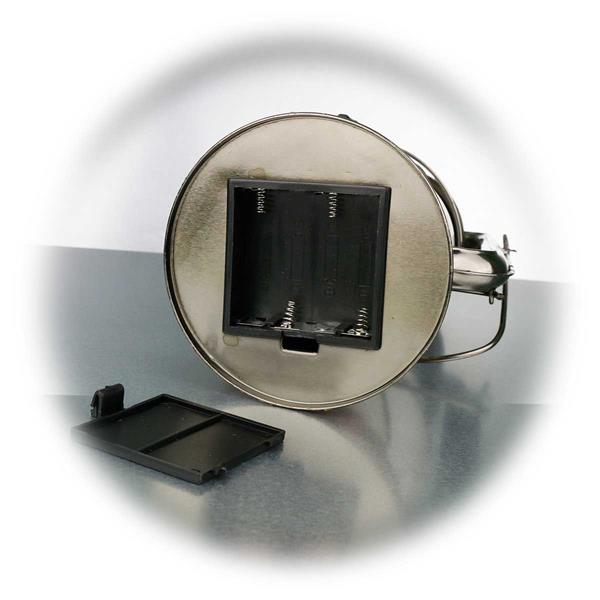 Batteriebetriebene LED Campingleuchte mit Dimmer