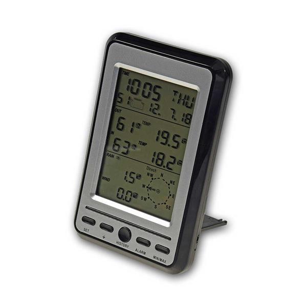 digitales Thermo-Hygrometer zum Aufstellen oder Aufhängen, Hintergrundbeleuchtung