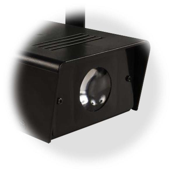 LED Projektor für Partykeller, Discos oder Schaufenster, mit Haltebügel