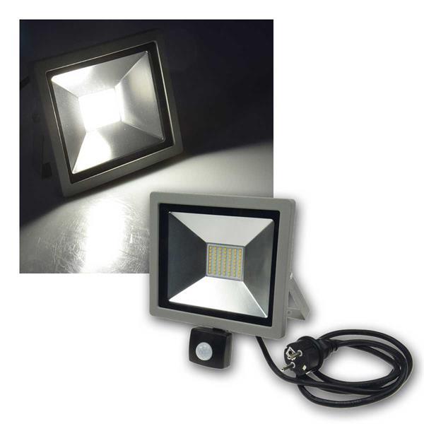 LED-Fluter SlimLine CTF-SLT30 PIR, 30W, daylight