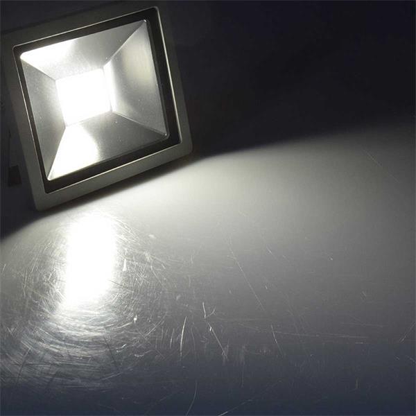 tageslichtweiße LED Beleuchtung für Haus, Hof und Gewerbe
