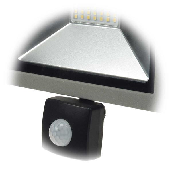 LED HighPower Strahler mit einstellbarem PIR-Bewegungsmelder