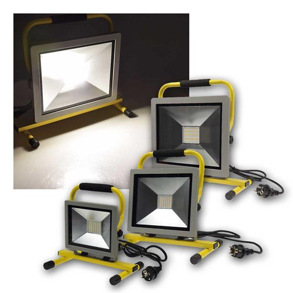 LED-Baustrahler CTS, IP44, daylight, 30/50/100W