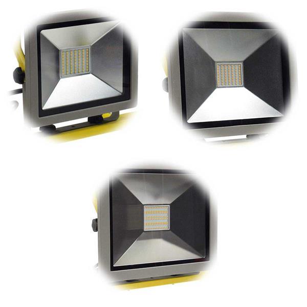 LED Flutlichtstrahler mit SMD LEDs, Anschluss an 230V