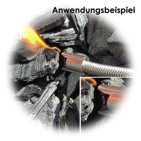 Feuerzeug zum Anzünden von Kerzen, Grill oder Kamin, wetterfest