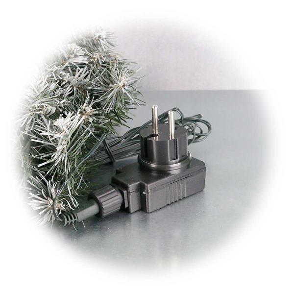 LED Weihnachtsdekoration, Deko für die Adventszeit mit Netzteil für 230V