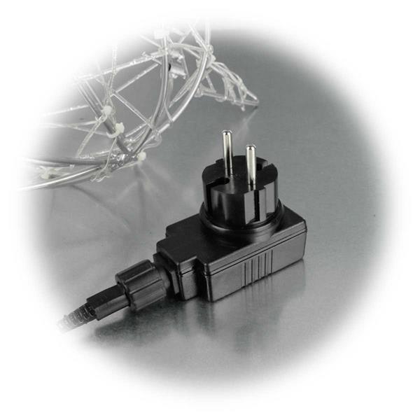 LED Rentiere mit Anschlusskabel und Steckernetzteil, für Innen und Außen