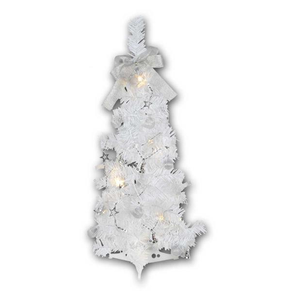 Mini Weihnachtsbaum für den Innenbereich mit LED Lichterkette