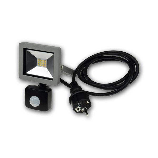 LED HighPower Strahler in flacher Bauweise für den Outdoorbereich