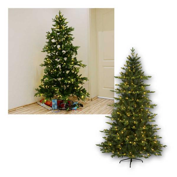 Weihnachtsbaum Larvik,1,8m, PE/PVC, 270 LED warmw