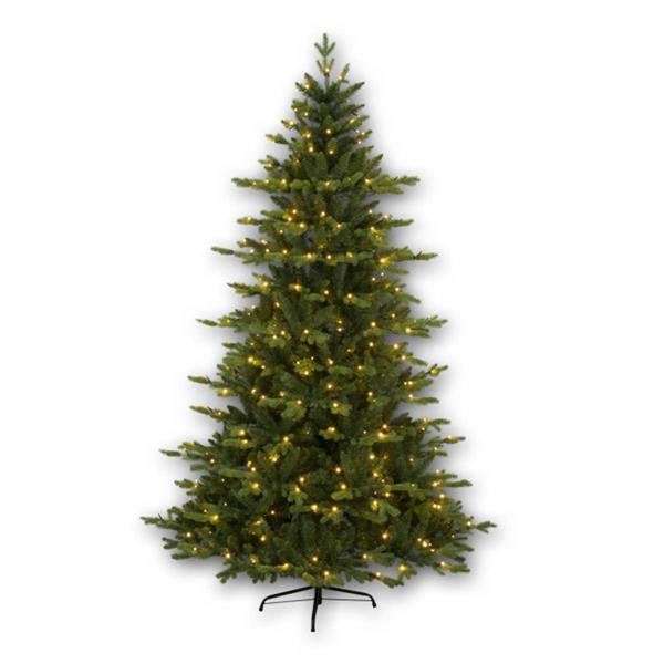 1,8m hoher Weihnachtsbaum mit PE/PVC-Materialmix