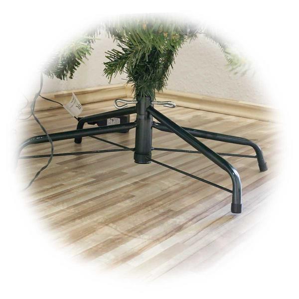 Qualitativ hochwertiger Weihnachtsbaum mit PE/PVC-Materialmix