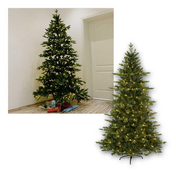 Weihnachtsbaum Larvik ,2,1m, PE/PVC, 360 LED warmw