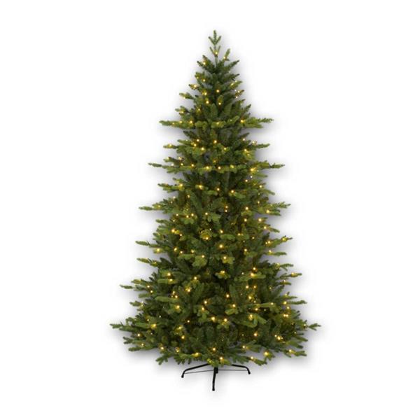 2,1m hoher Weihnachtsbaum Larvik mit einem Mix aus PE/PVC