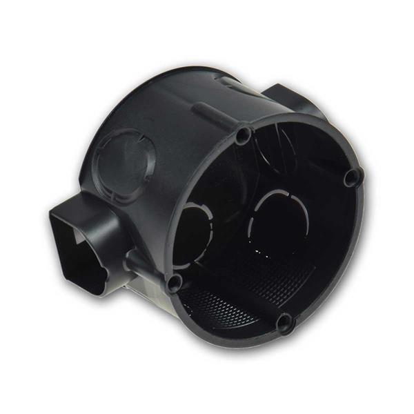 UP-Schalterdose Ø 60x41mm, 25er Pack schwarz