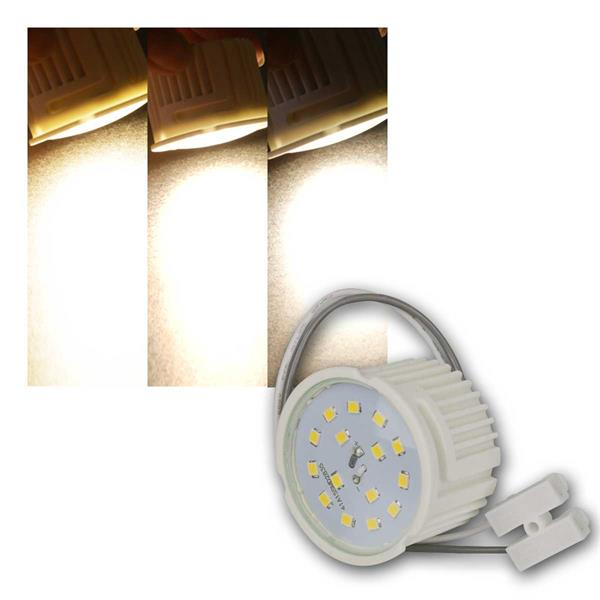LED-Modul 7W/230V, 510lm, warmweiß, Step- dimmbar