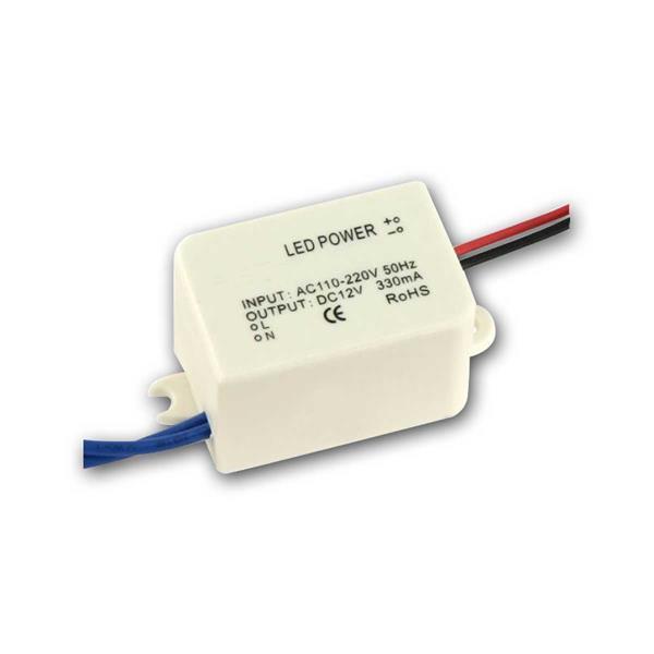 LED Deckeneinbaustrahler mit Trafo für den Anschluss an 230V