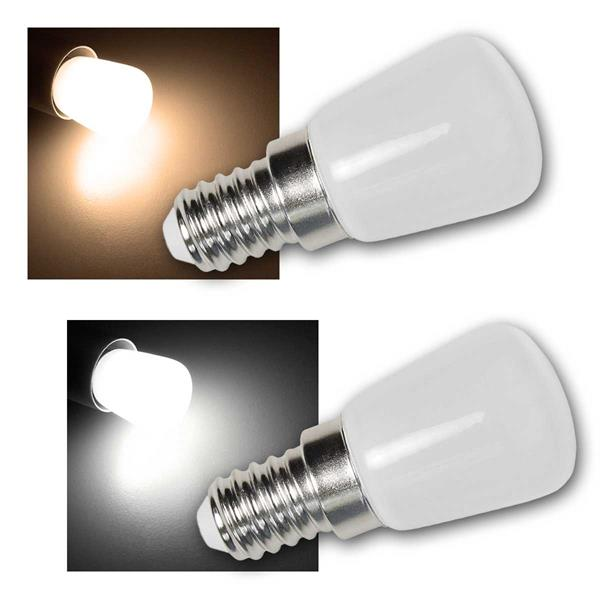 LED Kolbenlampe, E14, 2W, 160lm warmweiß/daylight