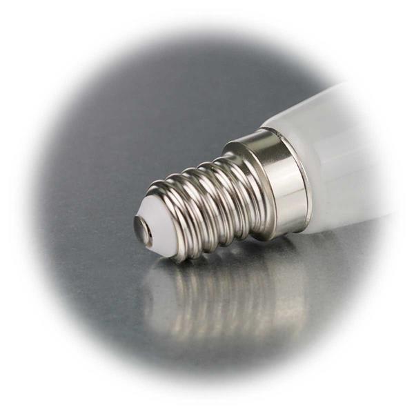LED Leuchtmittel mit  Sockel E14 mit nur ca. 2W Verbrauch für 230V