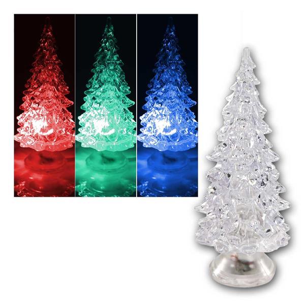 LED Weihnachts-Dekolicht Weihnachtsbaum, RGB