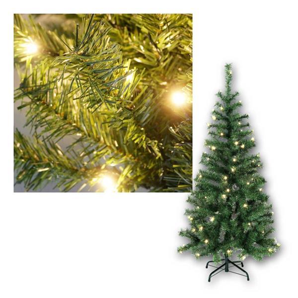 Weihnachtsbaum Kalix,1,5m, grün, 80 LED warmweiß