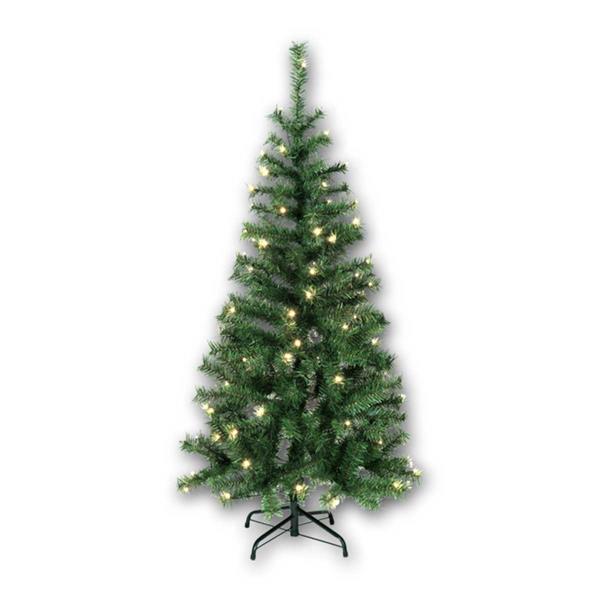 Grüner Weihnachtsbaum Kalix mit 80 warmweißen LEDs
