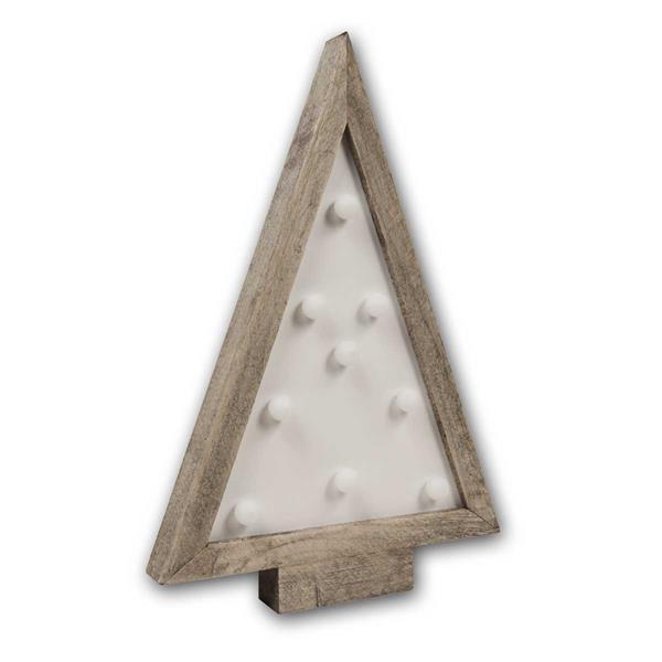 LED Leuchte in Form eines Tannenbaumes für eine festliche Stimmung