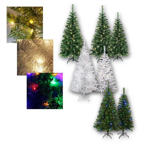 Weihnachtsbaum Kalix mit LED Beleuchtung, 7 Typen