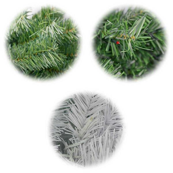 Täuschend echter Weihnachtsbaum in 7 Ausführungen