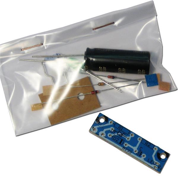 LED-Notlicht 6-12V DC/AC Bausatz von KEMO