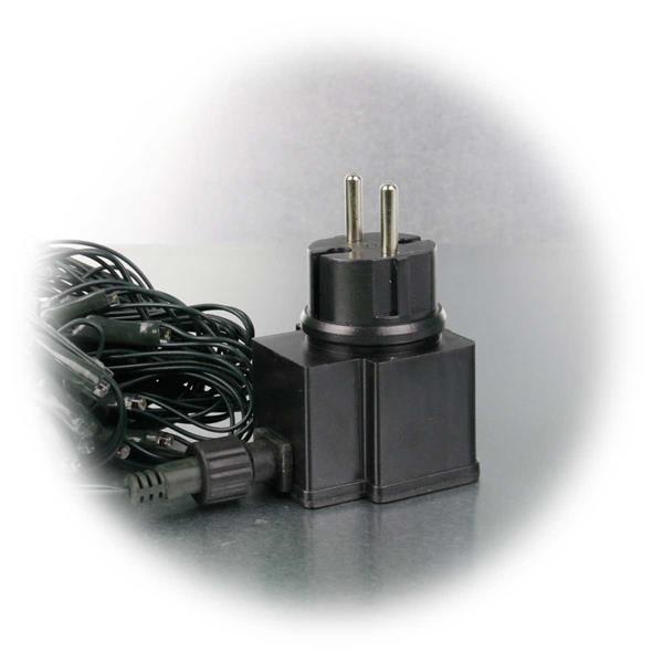LED Außen-Lichternetz für direkten Anschluss an 230V