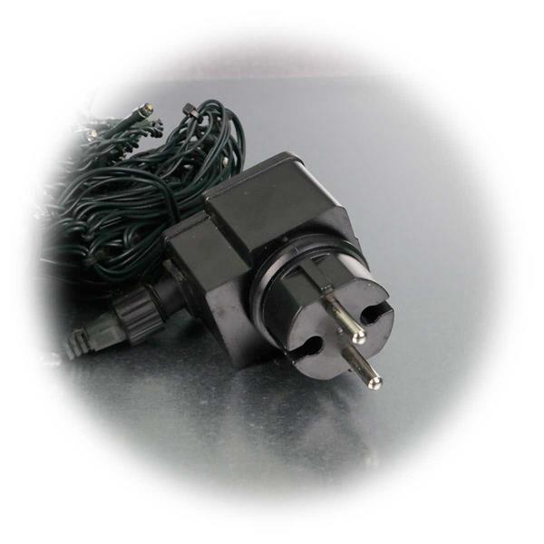 LED Außen-Lichtervorhang für direkten Anschluss an 230V