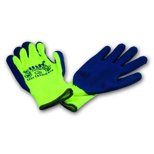 Arbeitshandschuhe Ice-Crusher gelb/blau Gr.10/XL