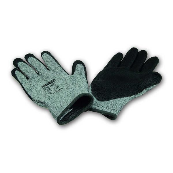 Schnittschutzhandschuhe, PU-Beschichtung, grau/schwarz, Gr.10