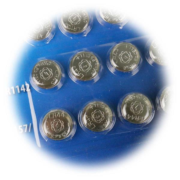 1,5V Knopfzelle für verschiedenste Kleinstgeräte