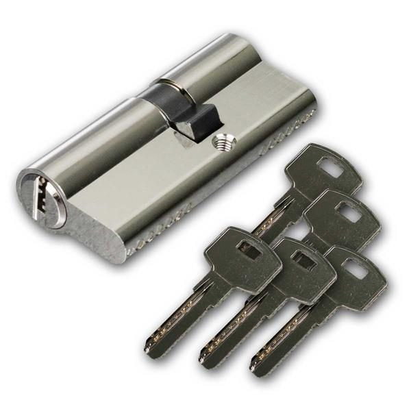 Schließzylinder 70mm (40+30mm), 5 Sicherhschlüssel
