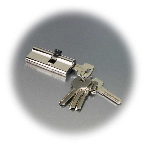 Doppelzylinder mit 5 Sicherheitsschlüsseln