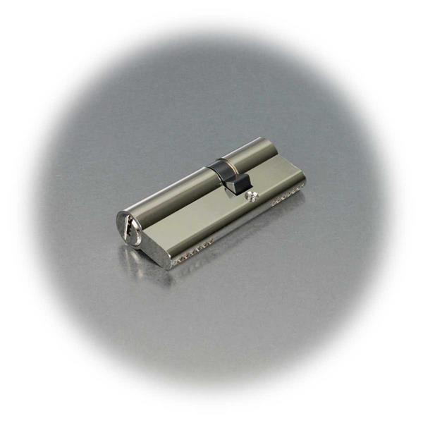 Asymmetrischer Doppelzylinder mit je 6 Stiften